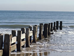 Broken groynes on the Beach - Ref: VS654