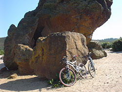 Click to view Agglestone Rock and Bikes