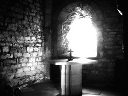 Click to view Inside St Aldhelms Chapel