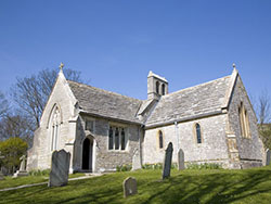 Click to view Tyneham Church