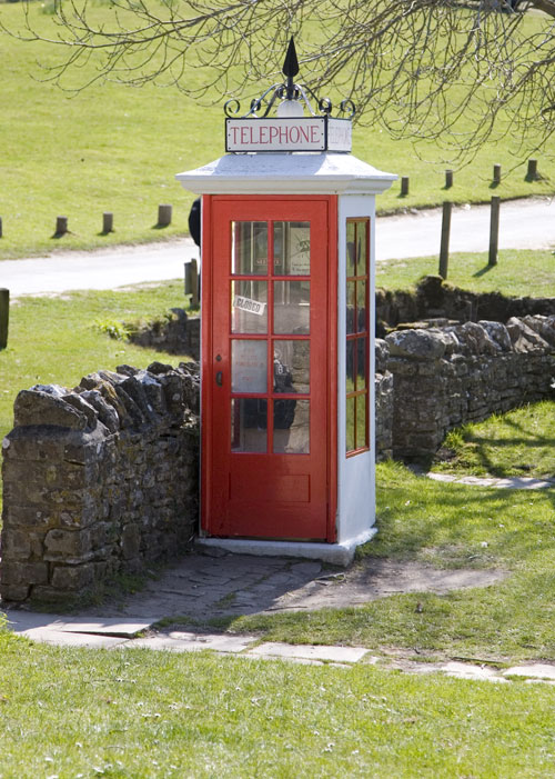 Old telephone box