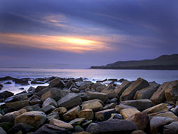 Kimmeridge Bay Sun Set - Ref: VS1111