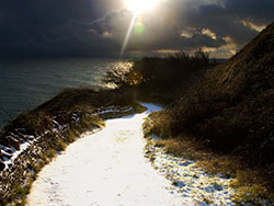 Click to view Snowy Path