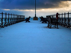 Click to view Snow on the Jetty