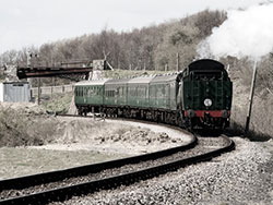 Click to view Train from Norden