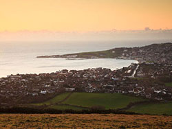 Click to view Dawn over Swanage