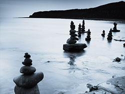 Click to view Kimmeridge Bay Standing Stones