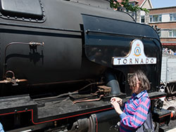 Click to view Peppercorn A1 class No 60163 Tornado