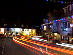 Corfe Castle Christmas Lights and trails - Ref: VS1381