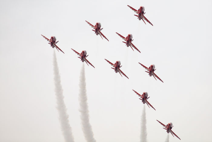 Red Arrows 2011