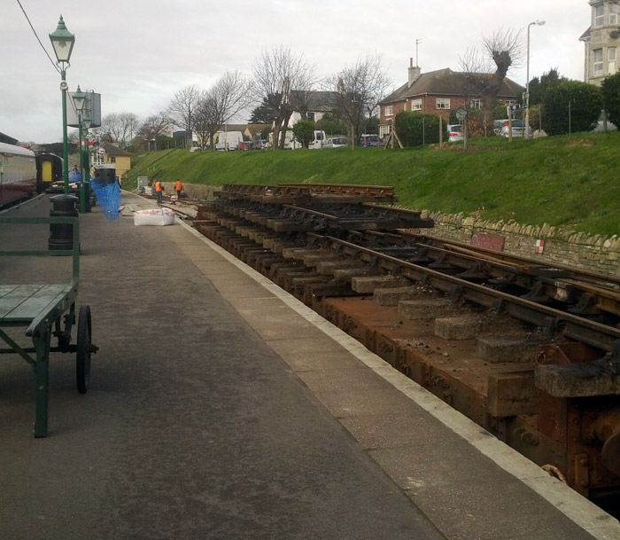Repairs on the Railway