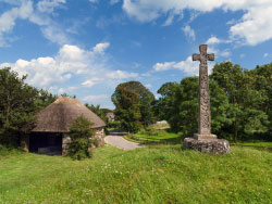 Click to view Stone Cross and Barn
