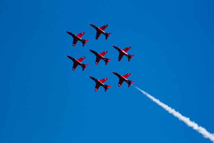Red Arrows 2012