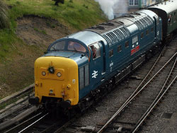 Click to view Swanage Railways Diesel Gala