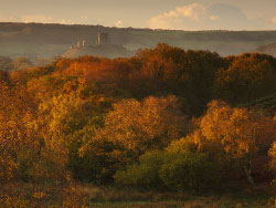 Click to view Autumn Corfe Castle