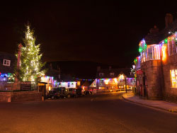 Corfe Castle Christmas Lights - Ref: VS1474