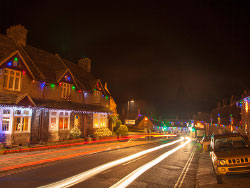 Corfe Castle Christmas Lights - Ref: VS1475