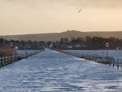 Click to view Flooding at Wareham Causeway