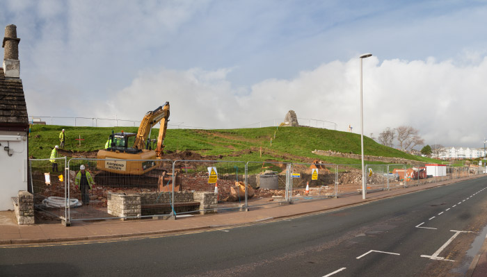 Seafront Stabilisation Project