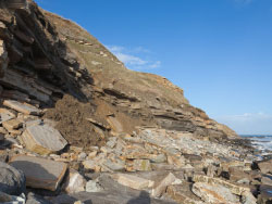 Click to view Durlston Bay Landslides