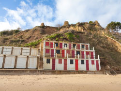 Click to view Landslides on Swanage beach