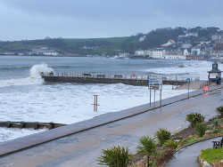 Click to view Seafront waves