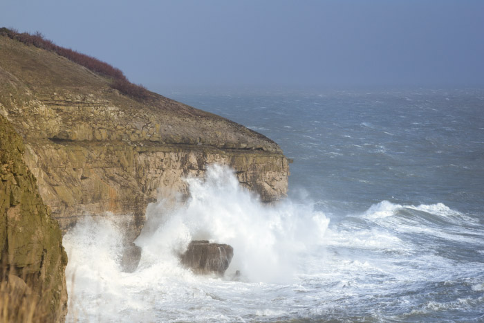 Storms at Durlston Country Park