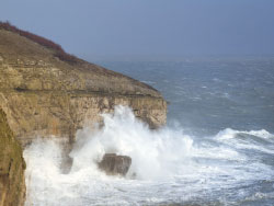 Storms at Durlston Country Park - Ref: VS1513