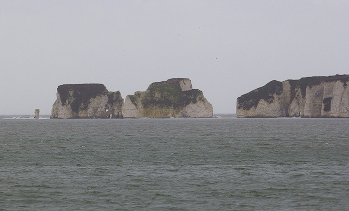 Damage to Old Harry Rocks