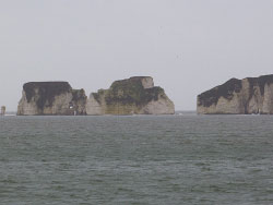 Click to view Damage to Old Harry Rocks