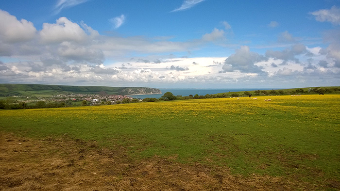 Swanage from the South