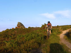 Click to view Riding by Agglestone Rock