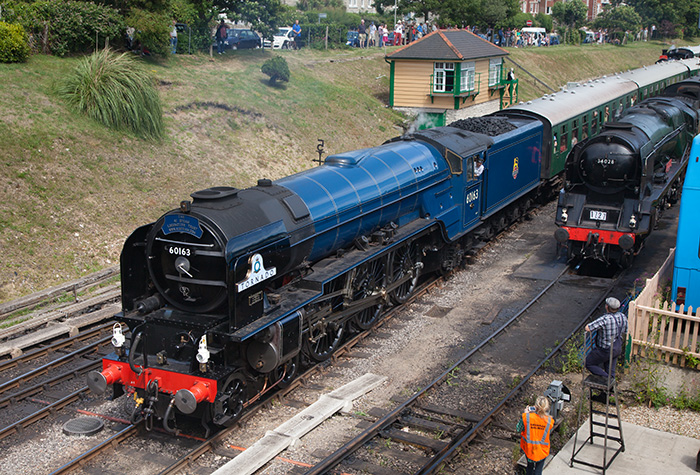A1 Steam Loco Trust No 60163 Tornado
