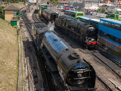 Click to view A1 Steam Loco 60163 Tornado at the Station