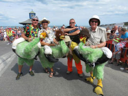 Click to view Swanage Carnival 2014