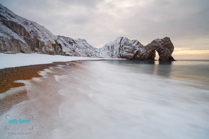 Durdle Door Snow