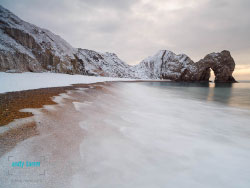Durdle Door Snow , click to view large image
