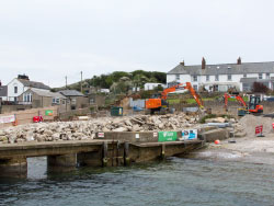 Click to view Lifeboat House demolition