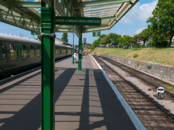 Click to view Swanage Station