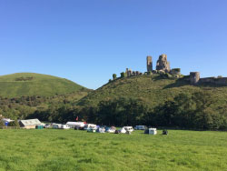 Click to view Campers at Corfe