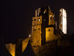 Click to view Corfe christmas illuminations