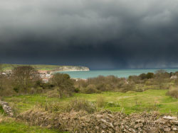 Click to view Storms over Swanage