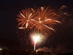 Click to view Firework Display at Swanage Carnival