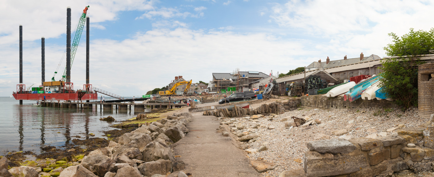 Lifeboat House New Slipway Construction