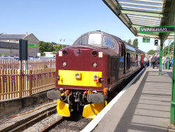 First Regular Train to Wareham - Ref: VS1777