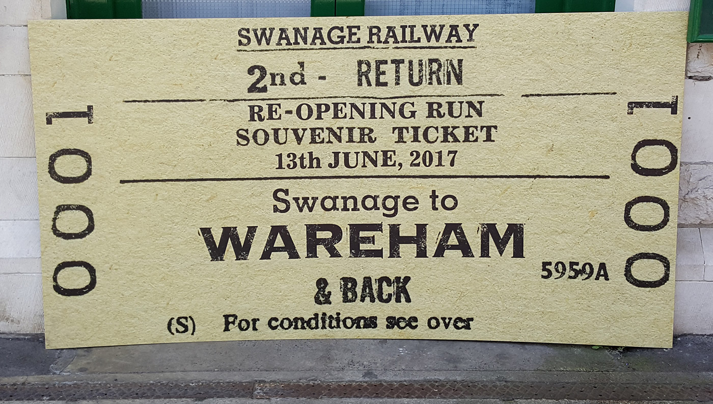First Regular Train to Wareham