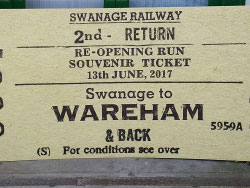 Click to view First Regular Train to Wareham
