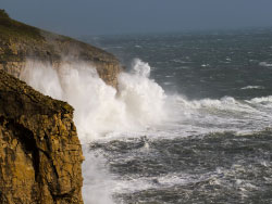 Click to view Stormy Sea at Durlston