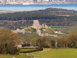 Click to view Corfe Castle and Poole Harbour