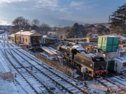 Snow on the Railway - Ref: VS1821